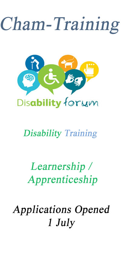 Disability Training Application Form